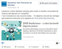 Decathlon Facebook