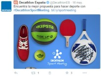 Decathlon Twitter