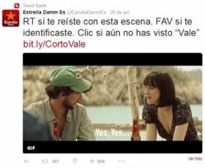 Estrella Damm Twitter