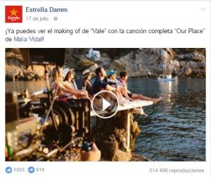 Estrella Damm Vale Facebook 1