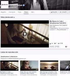 Facebook Youtube Stradivarius