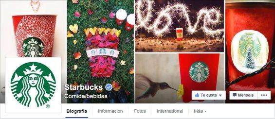 Starbucks Navidad Facebook