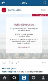 Clarins España Instagram