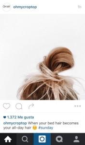 Domingo Oh my crop top Instagram
